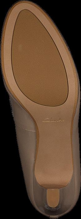 Kjøp Clarks Crisp Kendra Sand Patent Beige Sko Online