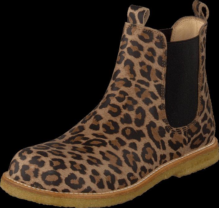 Kjøp Angulus 2192-101 Leopard Brune Sko Online