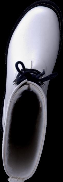 Kjøp Ilse Jacobsen 3/4 Rubber Boot White Hvite Sko Online