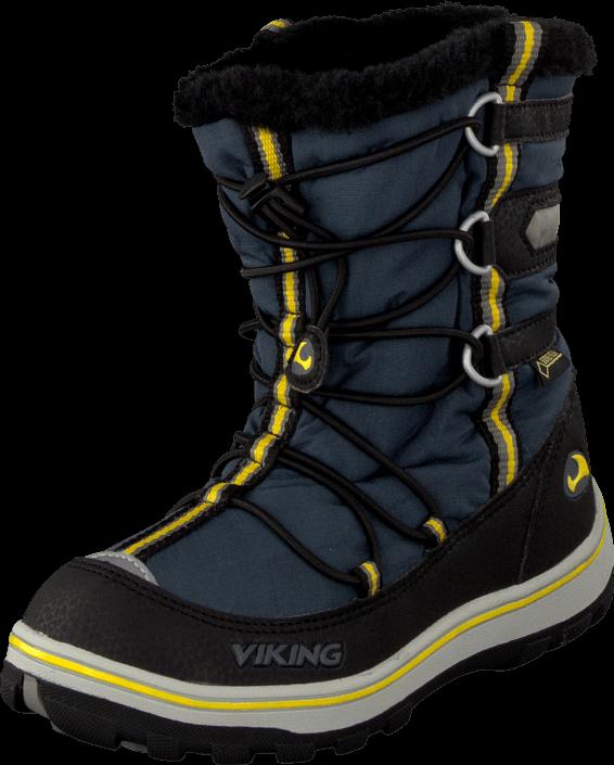 Kjøp Viking Fonn Charcoal/Black Blå Sko Online