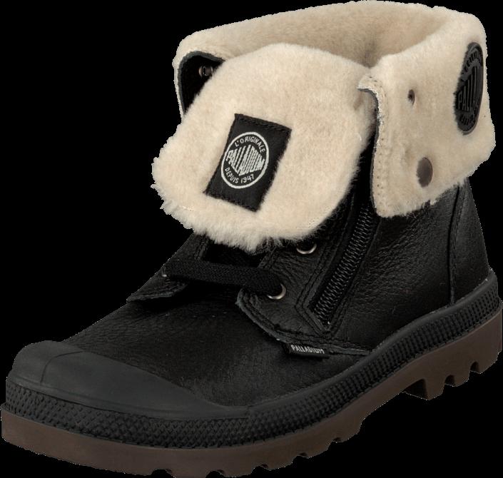 Kjøp Palladium Baggy PILOT Kids Black Svarte Sko Online