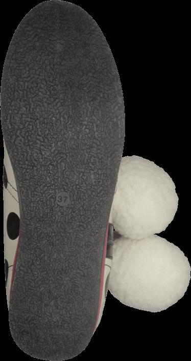 Kjøp Lola Ramona 412814-18 Cecilia White/Black Dots Hvite Sko Online