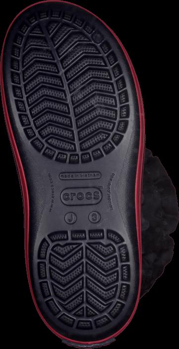 Kjøp Crocs Winter Puff Boot Kids Navy-Red Blå Sko Online