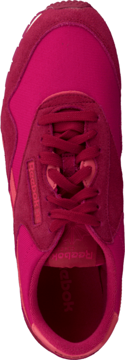 Kjøp Reebok Classic Cl Nylon Slim Color Magenta Pop/Red/Sorbet/Chalk Røde Sko Online