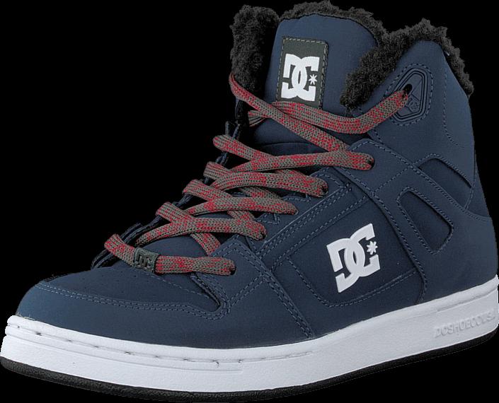 Kjøp DC Shoes Kids Rebound Wnt Shoe Navy/Grey Blå Sko Online