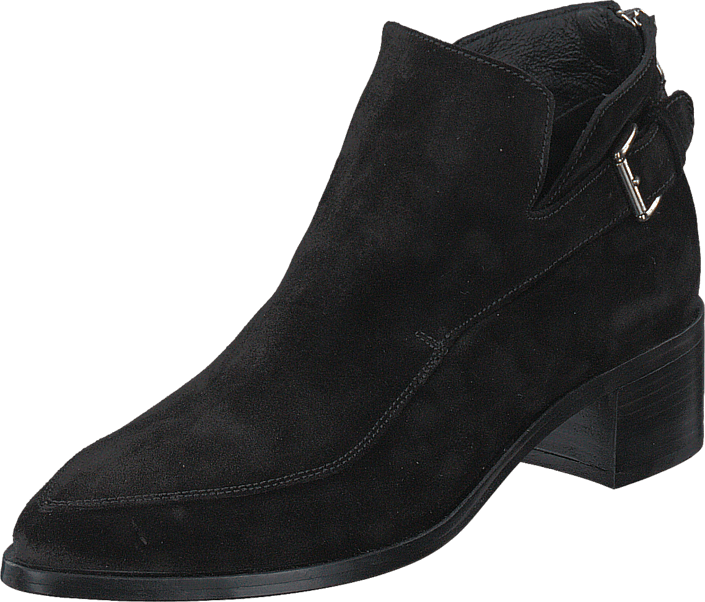 Kjøp Hope Free Boot Black Suede Svarte Sko Online