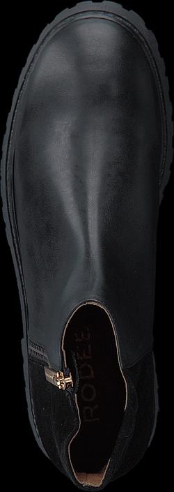 Kjøp Rodebjer Ruby Black Leather Grå Sko Online