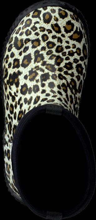 Kjøp Vincent Leopard Black Grå Sko Online