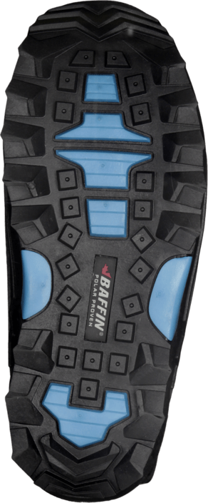 Kjøp Baffin Snogoose Black/Electric Blue Svarte Sko Online