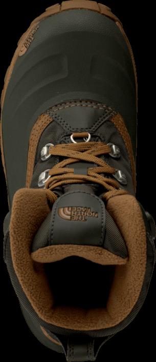 Kjøp The North Face Chilkat II Bin Grn/Dac Bro Svarte Sko Online