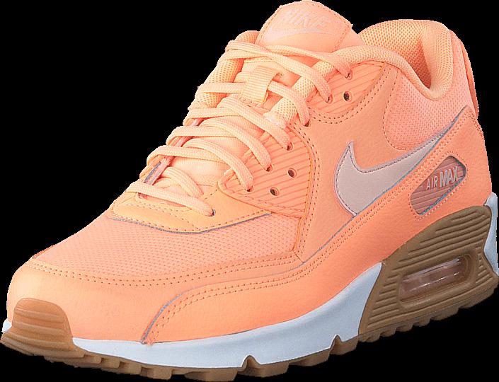 Kjøp Nike Wmns Air Max 90 Sunset Glow/Sunset Tint-Gum Li Beige Sko Online
