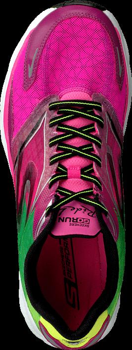 Kjøp Skechers Go Run 4 Ride Hot pink/lime Grønne Sko Online