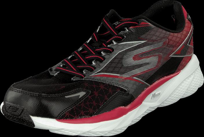 Kjøp Skechers Go Run 4 Ride Black/red Svarte Sko Online