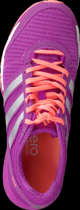 Kjøp adidas Sport Performance Adizero Ace 7 W Pink/White/Orange Lilla Sko Online