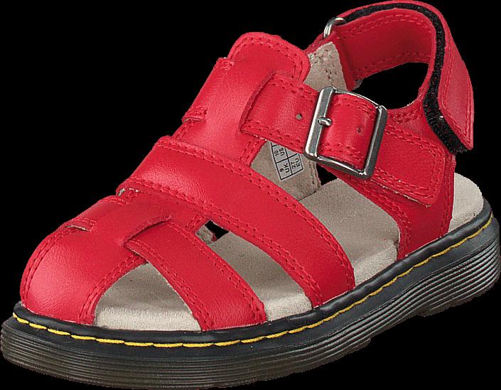 Kjøp Dr Martens Moby Red Røde Sko Online