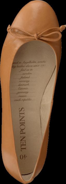 Kjøp Ten Points Emma 179001 Cognac Brune Sko Online