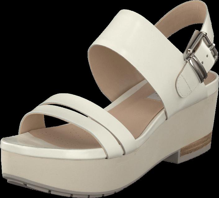Kjøp Clarks Perez Glitter White Hvite Sko Online