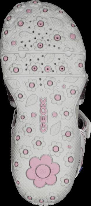 Kjøp Geox B Sandal Roxanne Lt Grey/White Hvite Sko Online