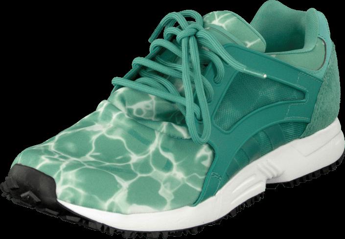 Kjøp adidas Originals Racer Lite St Fade Ocean/Ftwr White Grønne Sko Online