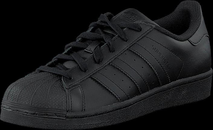 Kjøp adidas Originals Superstar Foundation Core Black/Core Black Svarte Sko Online