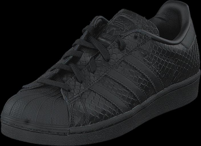 Kjøp adidas Originals Superstar W Core Black/Black/Ftwr White Svarte Sko Online