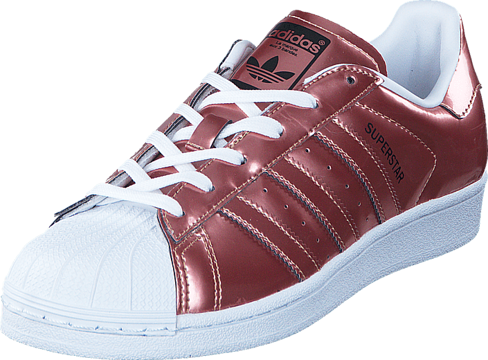 Kjøp adidas Originals Superstar W Copper Met./Copper Met./Ftwr W Rosa Sko Online