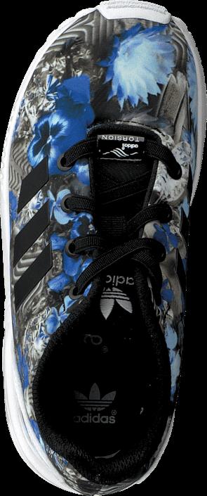 Kjøp adidas Originals Zx Flux El I Core Black/Core Black/White Grå Sko Online