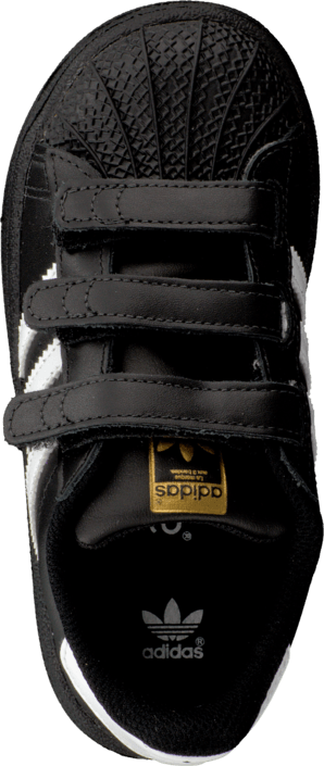 Kjøp adidas Originals Superstar Foundation Cf I Black/Ftwr White Svarte Sko Online