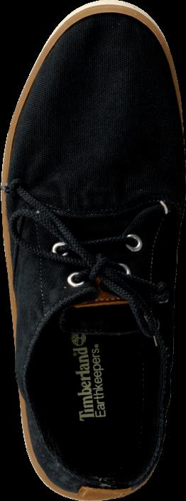 Kjøp Timberland Hookset oxford Washed Black Canvas Svarte Sko Online