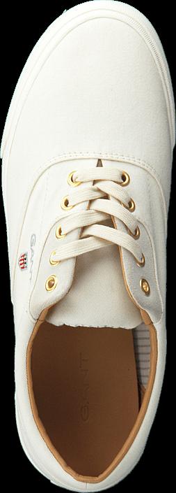 Kjøp Gant Hero Lace G20 Off White Hvite Sko Online