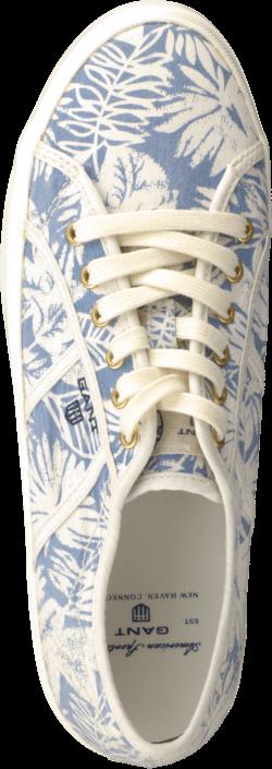 Kjøp Gant Zoe ice blue flower Hvite Sko Online