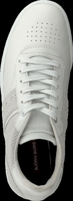 Kjøp Björn Borg B100 Low Lea M White Hvite Sko Online