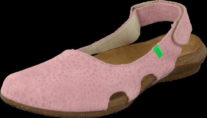 Kjøp El Naturalista Wakataua N414 Pink Brune Sko Online