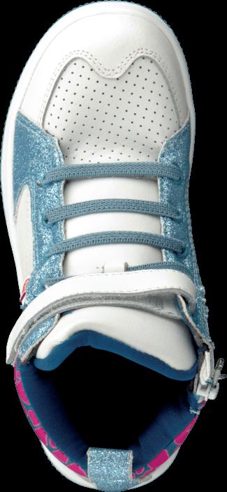 Kjøp Pax Dell White Blå Sko Online