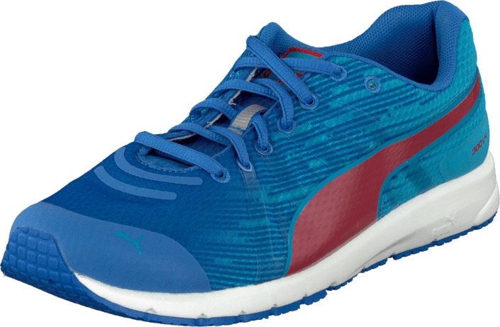 Kjøp Puma Faas 300 V4 Jr Strong Blue-Hawaiian Ocean Blå Sko Online