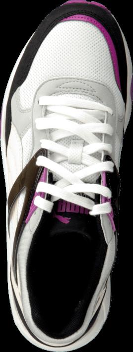 Kjøp Puma R698 Basic Sport Wns Black Hvite Sko Online