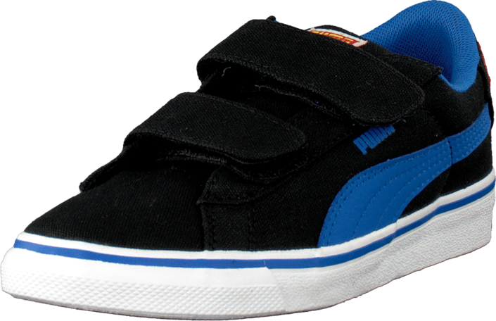 Kjøp Puma Puma S Vulc Cvs Superman Kids Black-Strong Blue-Buttercup Blå Sko Online