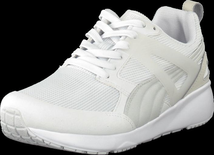 Kjøp Puma Arial White Hvite Sko Online
