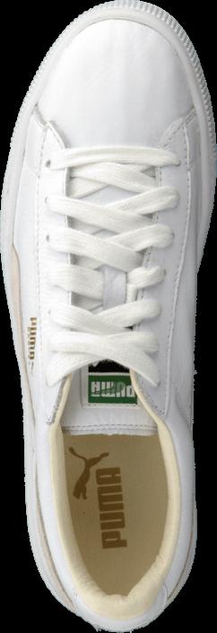 Kjøp Puma Basket Classic White-White Hvite Sko Online