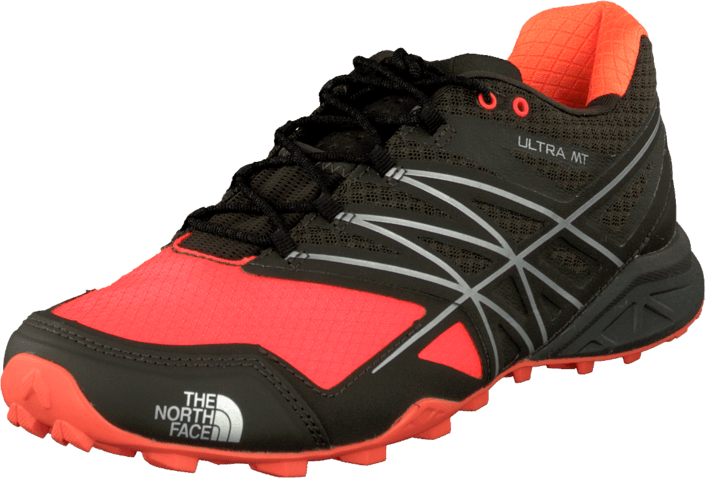 Kjøp The North Face M  Ultra Mt Balck Lnk Green/Power Orange Brune Sko Online