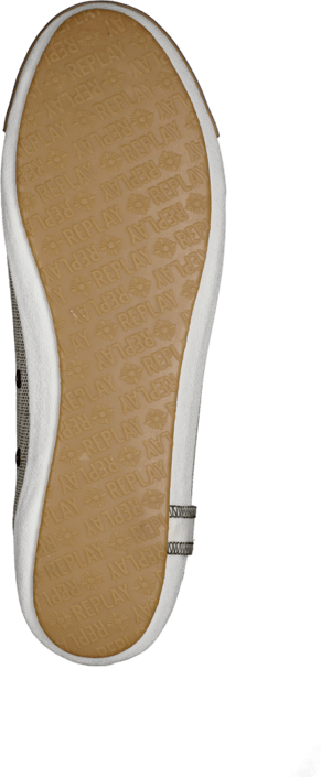 Kjøp Replay Bridgette Glit Platin Beige Sko Online