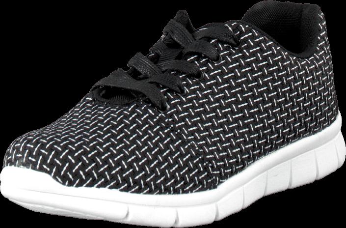 Kjøp Oill Plait Signature Shoe Black Svarte Sko Online