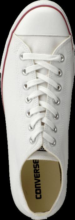Kjøp Converse Chuck Taylor All Star Lean Canvas White Hvite Sko Online