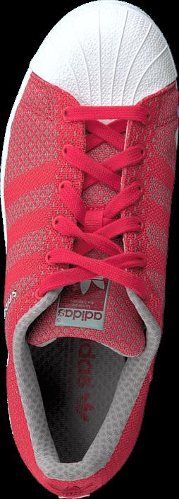 Kjøp adidas Originals Superstar Weave Pack Tomato/Tomato/Ftwr White Rosa Sko Online