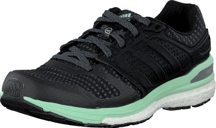 Kjøp adidas Sport Performance Supernova Sequence Boost 8 W Black/Iron Met/Green Svarte Sko Online
