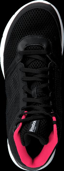 Kjøp Reebok Cardio Workout Mid Rs Black/Grey/Neon Cherry/White Svarte Sko Online