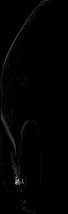 Kjøp Billi Bi 7653 Black Babysilk Suede Svarte Sko Online