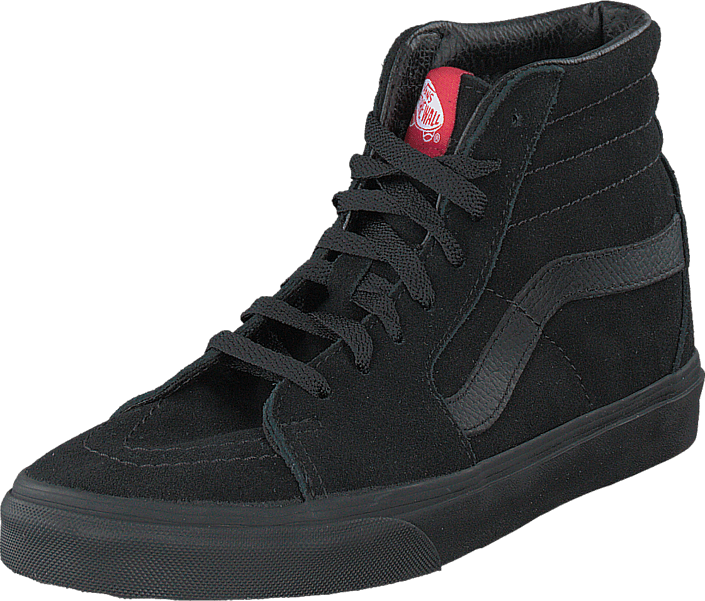 Kjøp Vans SK8-Hi Black/Black (Suede) Svarte Sko Online
