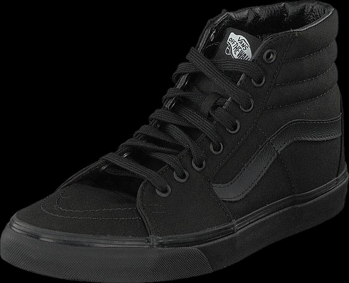 Kjøp Vans Sk8-Hi Black/Black/Black Svarte Sko Online