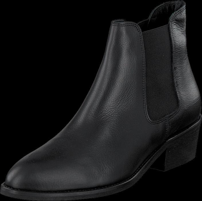 Kjøp Amust Kamil Low Boot Leather Black Grå Sko Online